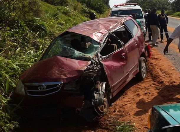 A car rolled in Umgababa injuring two people