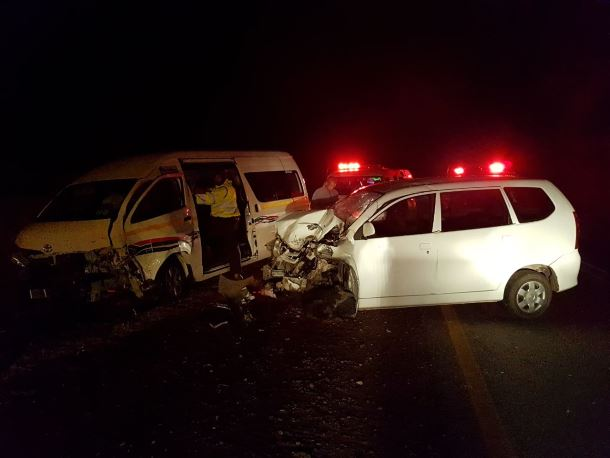 A head-on collision in Potchefstroom has left six people injured