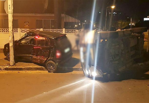 Five injured in t-bone collision on Esther Roberts Road in Durban