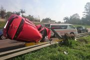 Mother and child injured in Pinetown Crash