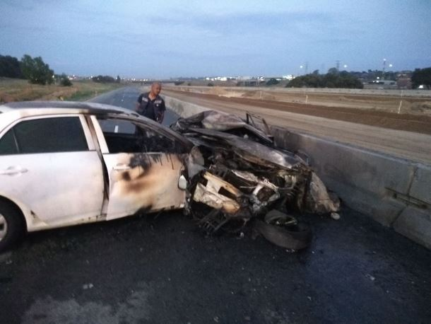 One person has died and 5 others injured in Centurion crash