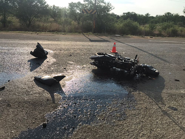 Fochville man killed when motorcycle crashes into truck