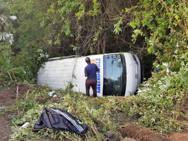 20 people injured in a series of collisions in Pinetown