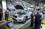 Production of Volvo's first ever compact premium SUV begins in Belgium