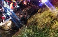 Pedestrian killed on the south bound lane of the R102 between the Verulam and Ottawa intersection