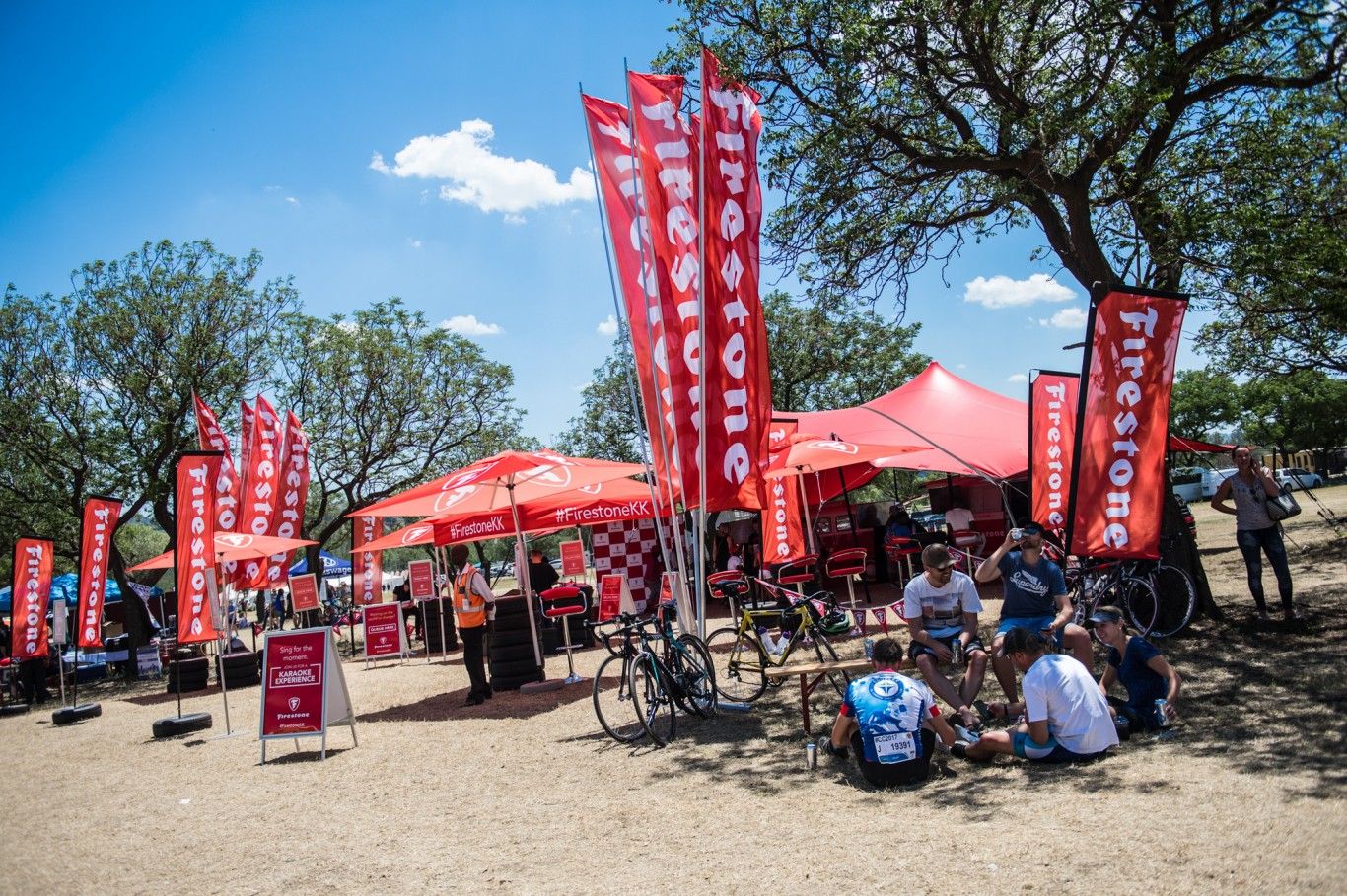 Firestone took the party to the Telkom 947 Cycle Challenge