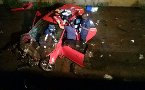 Fatal collision claims the lives of 2 people at the intersection of Alpine Road and Umgeni Road