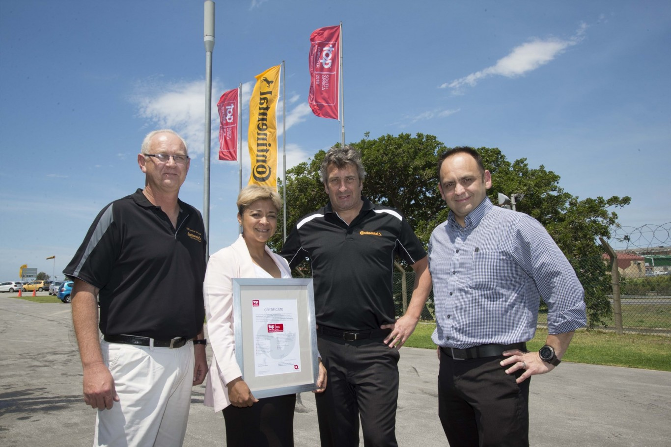 Continental one of SA's top companies to work for