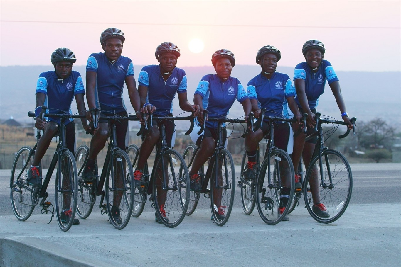 Siyaphambili Team to represent Volkswagen at Telkom 947 Cycle Challenge.