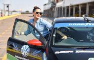 Shashi Naidoo and Zoe Brown take to the track on Speed Stars