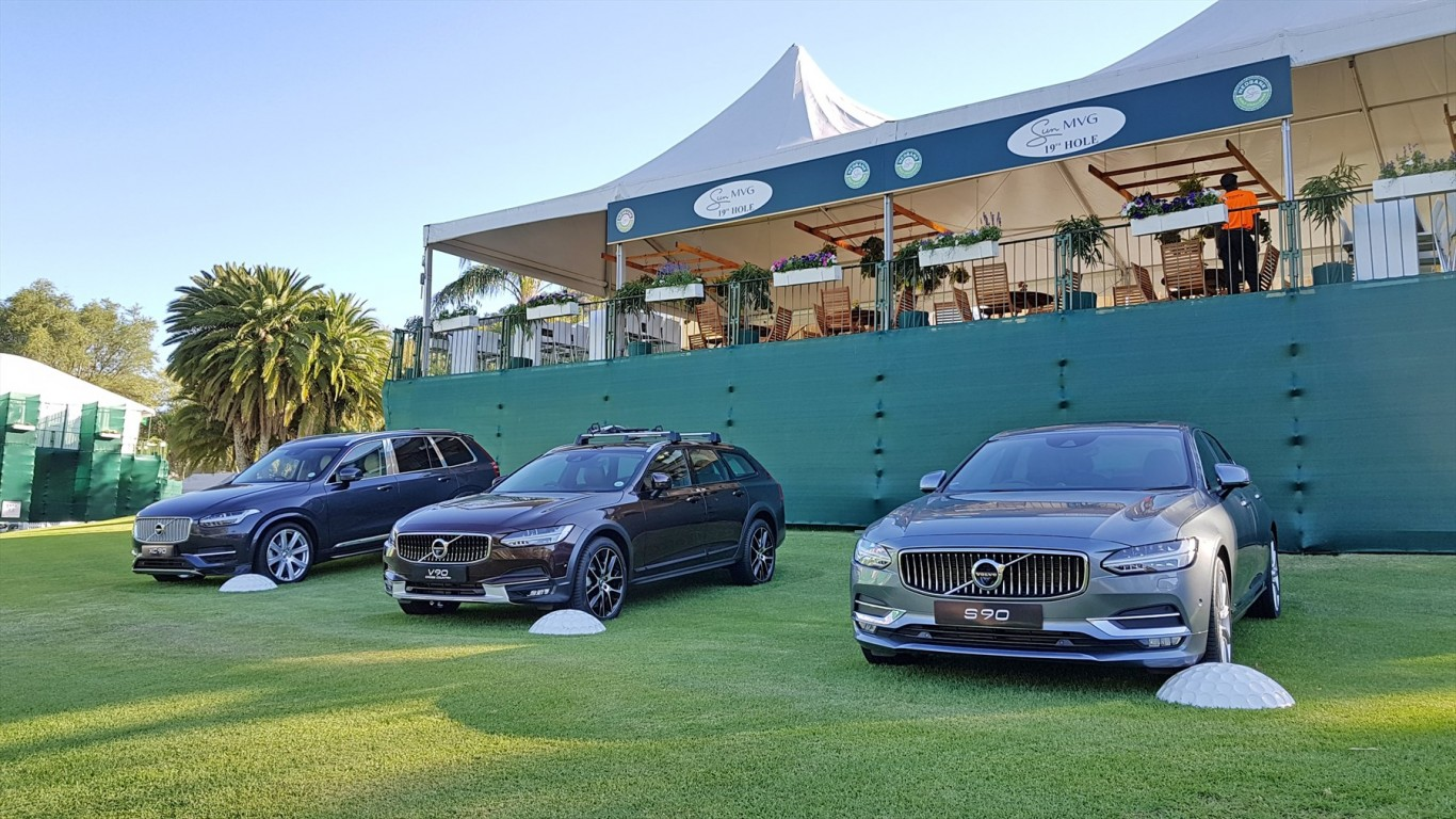 First public showcase of all-new Volvo XC60 at Nedbank Golf Challenge