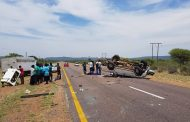 Three killed, 9 injured in bakkie rollover in the Waterberg district, Limpopo