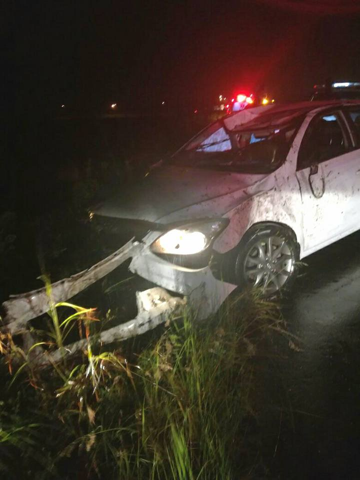 Vehicle rollover on the R102 in the vicinity of King Shaka International Airport