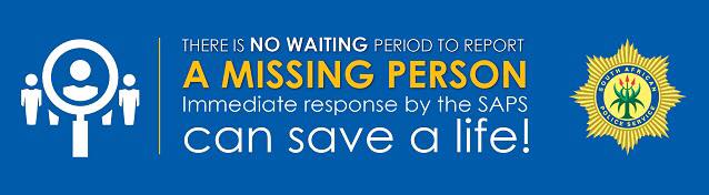 There is no waiting period to report a missing person