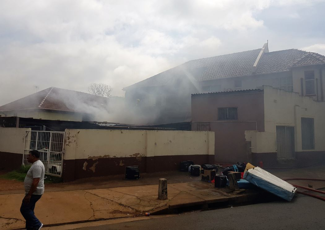 3 injured in Fire on Bartle Road near Fennis Cowles Road in Umbilo