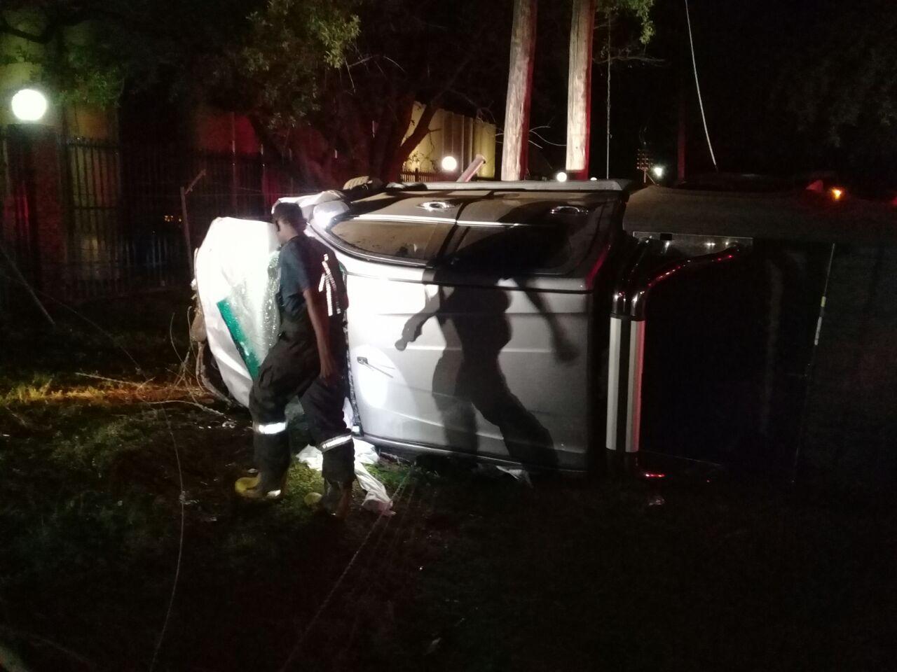 Two bakkies collide leaving three injured on the R529 in Letsitele, Limpopo