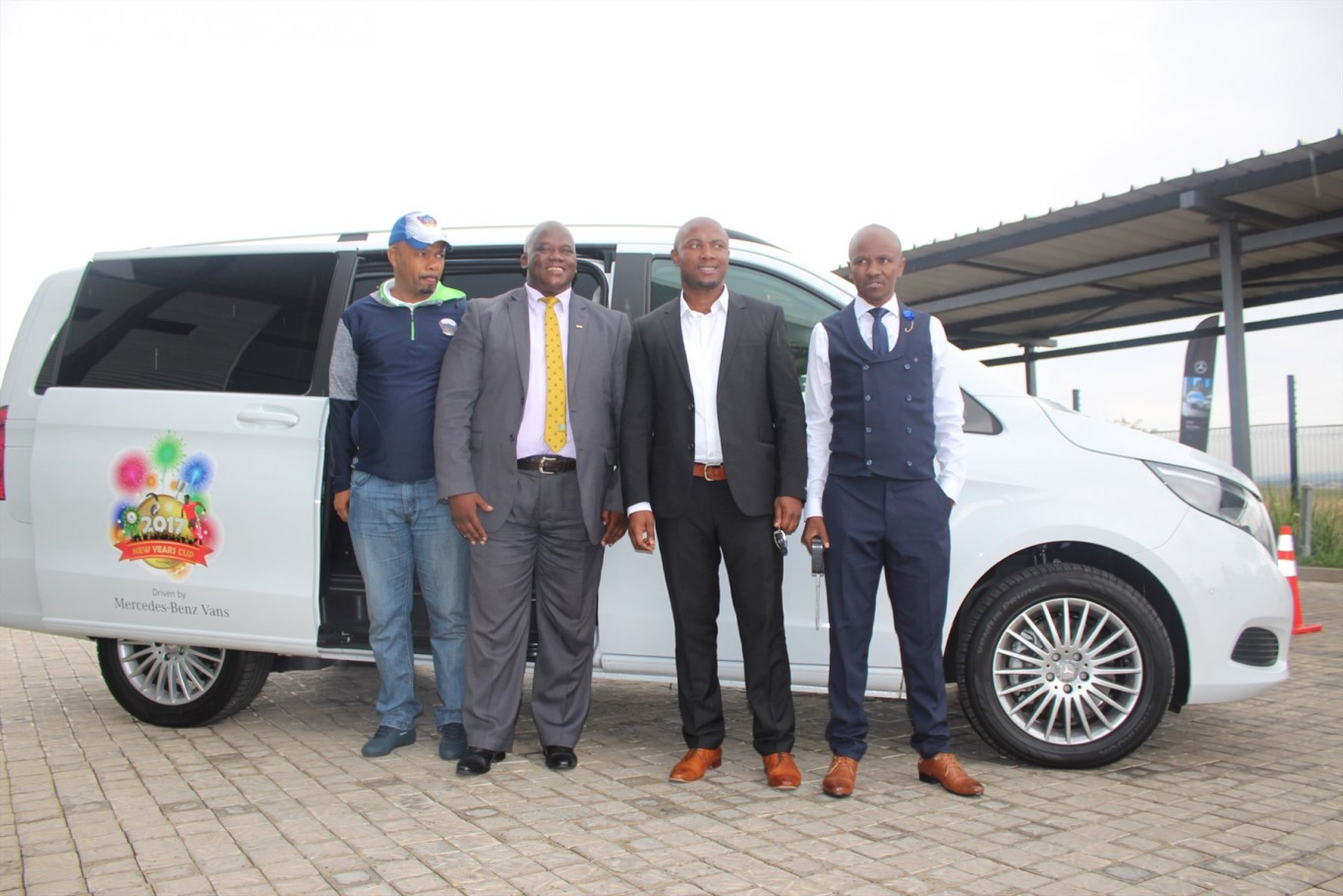 Mercedes-Benz Vans sponsors the Eastern Cape's 2017 New Year's Cup football tournament with six vehicles