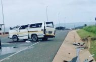 Fifteen injured in afternoon taxi crash.