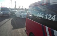 15 people have been injured during a taxi collision in Hillcrest