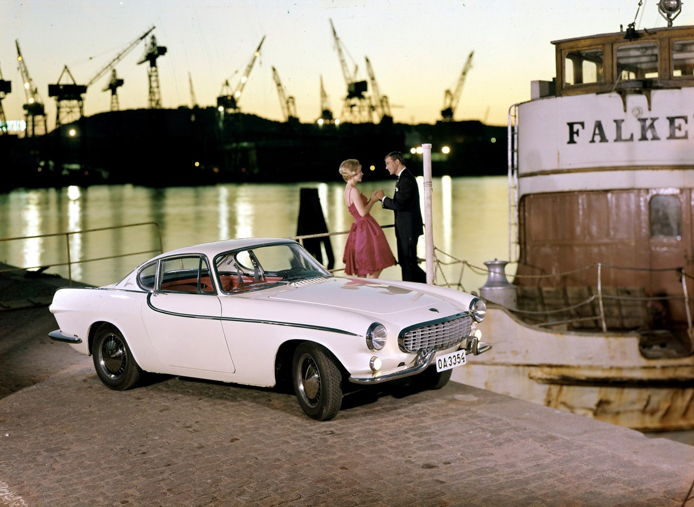 Volvo Cars Brings Sir Roger Mooreu0027s 1800 S To Techno Classica Classic Car  Show