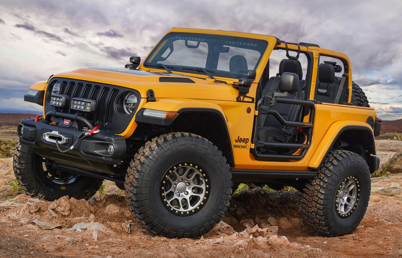 Jeep® And Mopar Brands Unveil Seven Concept Vehicles For 52nd Annual Moab  Easter Jeep Safari