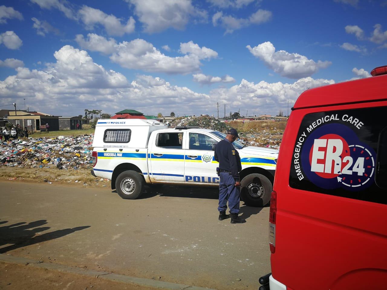 A Body of foetus found in a rubbish dump in Muvhango, Bophelong