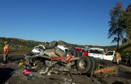 Truck rolls leaving two injured on the N3 highway near the Mariannhill Toll Plaza in KwaZulu Natal.