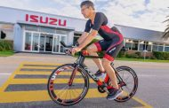 Isuzu's chief warms up for IRONMAN 70.3 World Championship