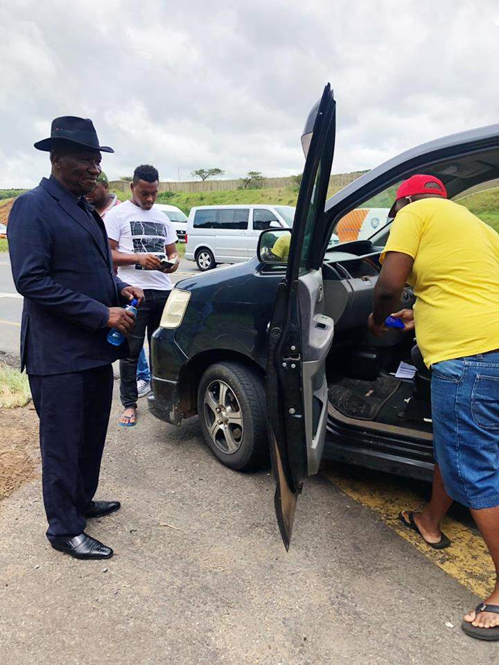 KwaZulu-Natal #SaferFestiveSeason operations visited by Minister Bheki Cele