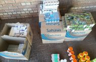 Illegal cigarettes and creams valued at about R364 520 were confiscated in Kleinmoes