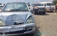 One motorist injured in a collision in Woodmead