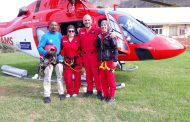60 Year old male patient airlifted from hiking trail near Montagu
