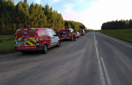 A bakkie and truck collided in Howick leaving two men injured