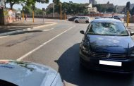 A cyclist was critically injured when he was knocked over by a car on Hunt Road, Durban