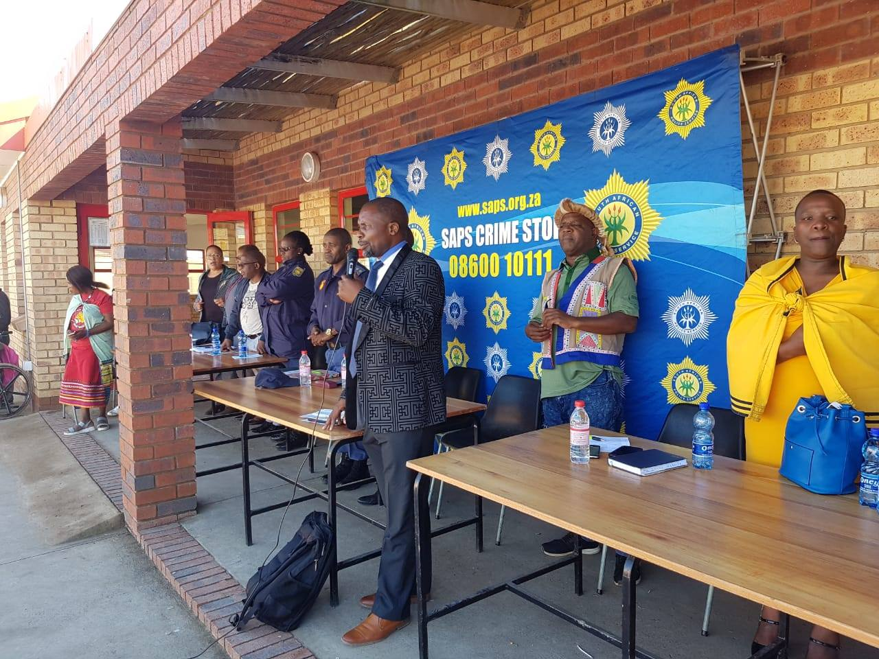 Mthatha Cluster Youth Crime Prevention Desk makes a call to youth in the fight against drugs