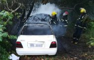 The driver of a car was burnt beyond recognition in Birdswood, Richards Bay
