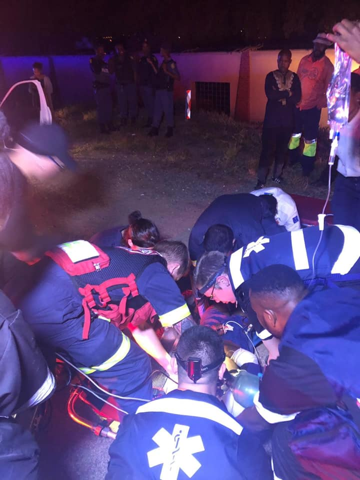 Pedestrian seriously injured in road crash in Sunninghill