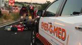 Pedestrian injured in collision on Grosvenor road, Johannesburg