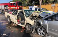 Three injured in head-on crash in Fishhoek