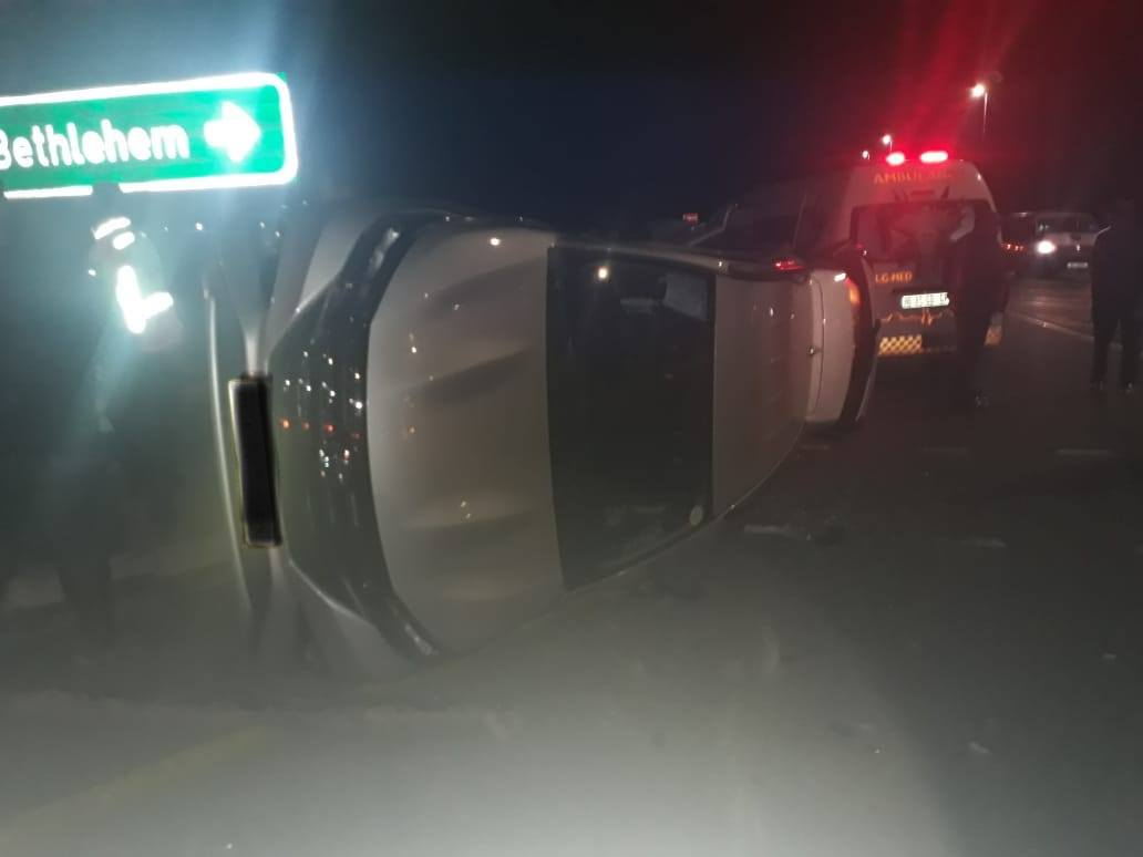 One person injured in collision on the N5,  Harrismith