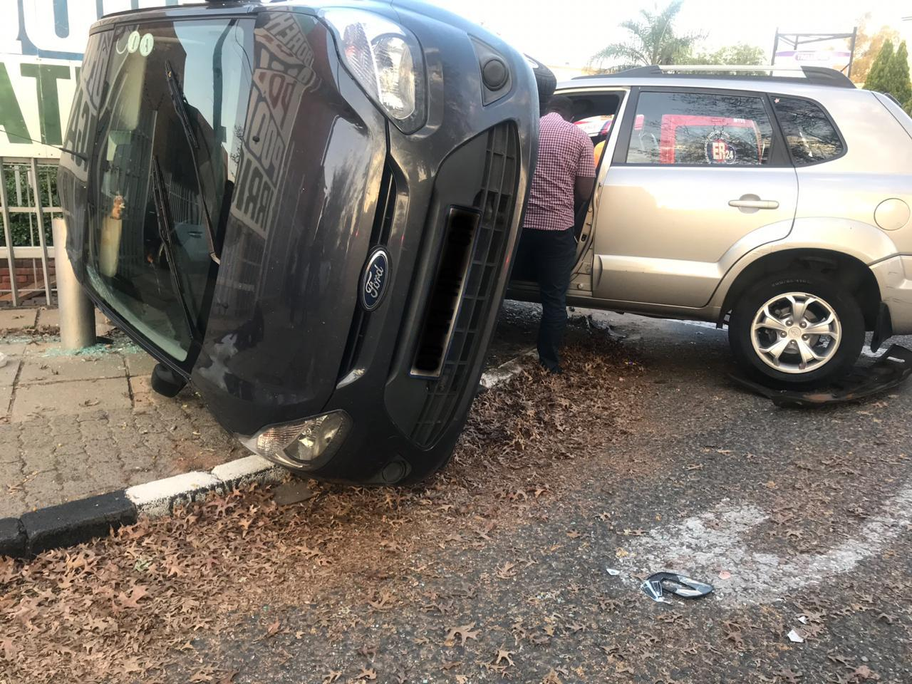 Several injured in collision in Randburg