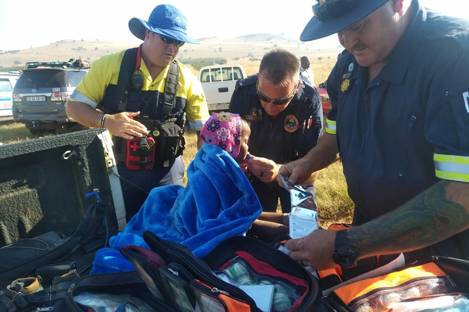 Missing child found alive in Mooiplaas | Road Safety Blog