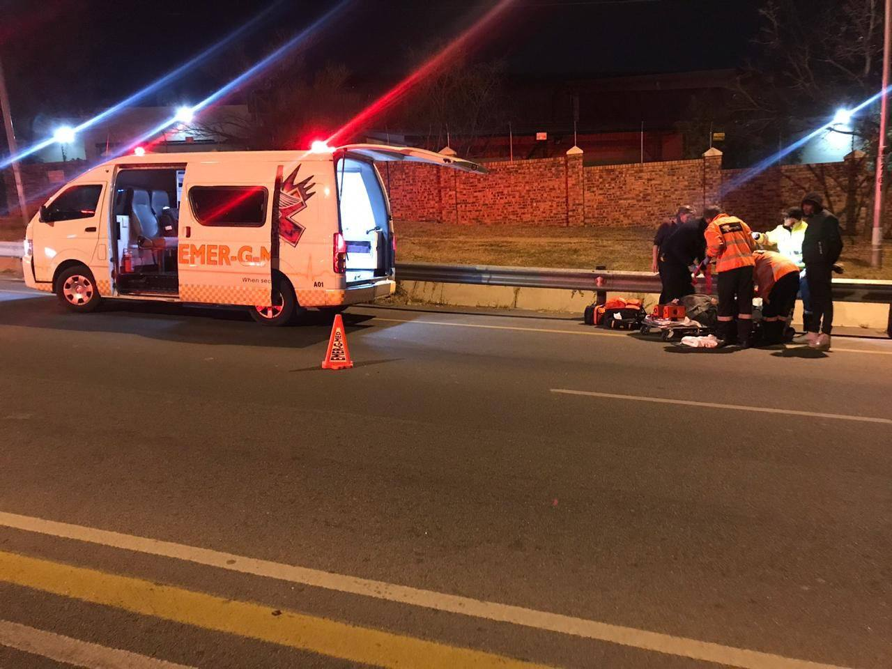 One injured in road crash in Paulshof