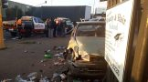 Two injured in collision in Boksburg