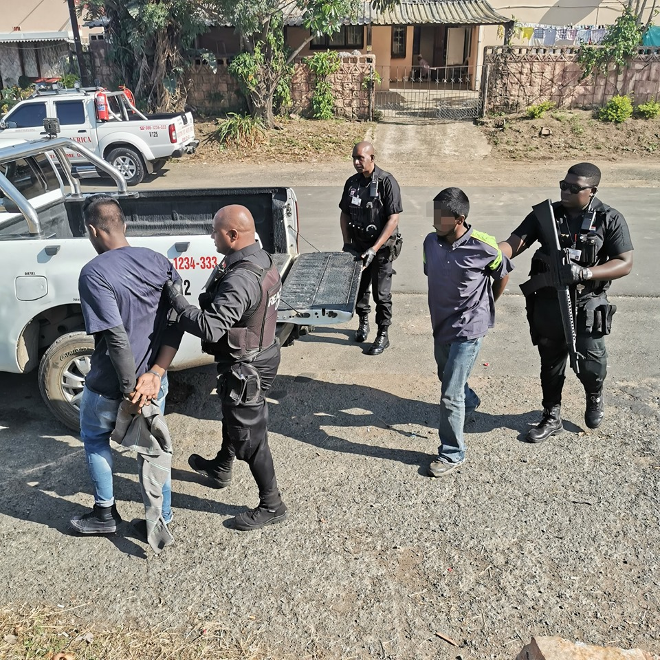 Son arrested for theft from dad in Verulam