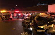 Several injured in road crash in Pretoria