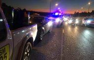 Three vehicle collision in Sunninghill