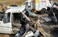 One man is in a critical condition following a head-on collision on Summit Road in Centurion