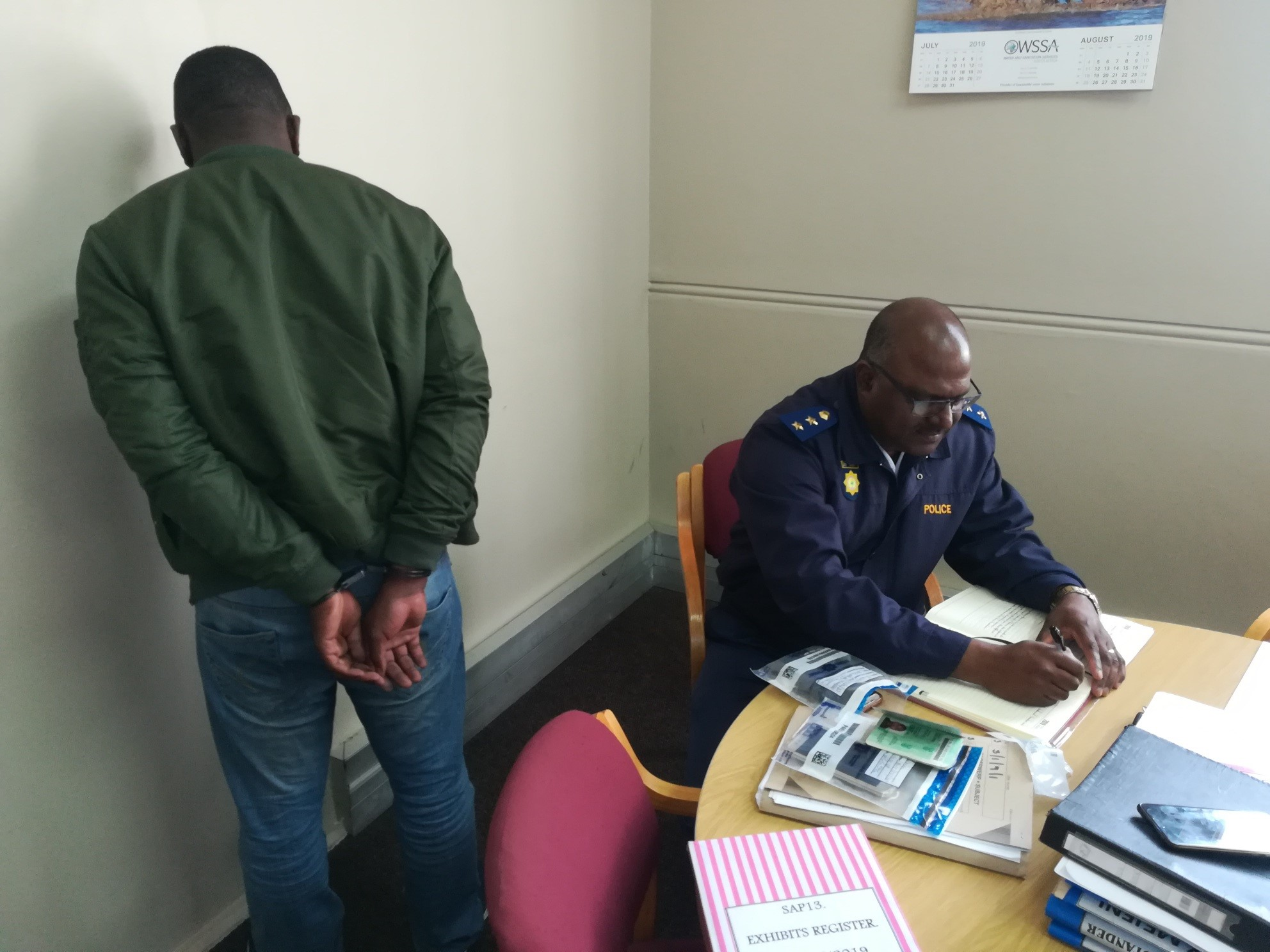 Speedy reaction by Muizenberg SAPS leads to recovery of stolen goods and arrest of house robbery suspect