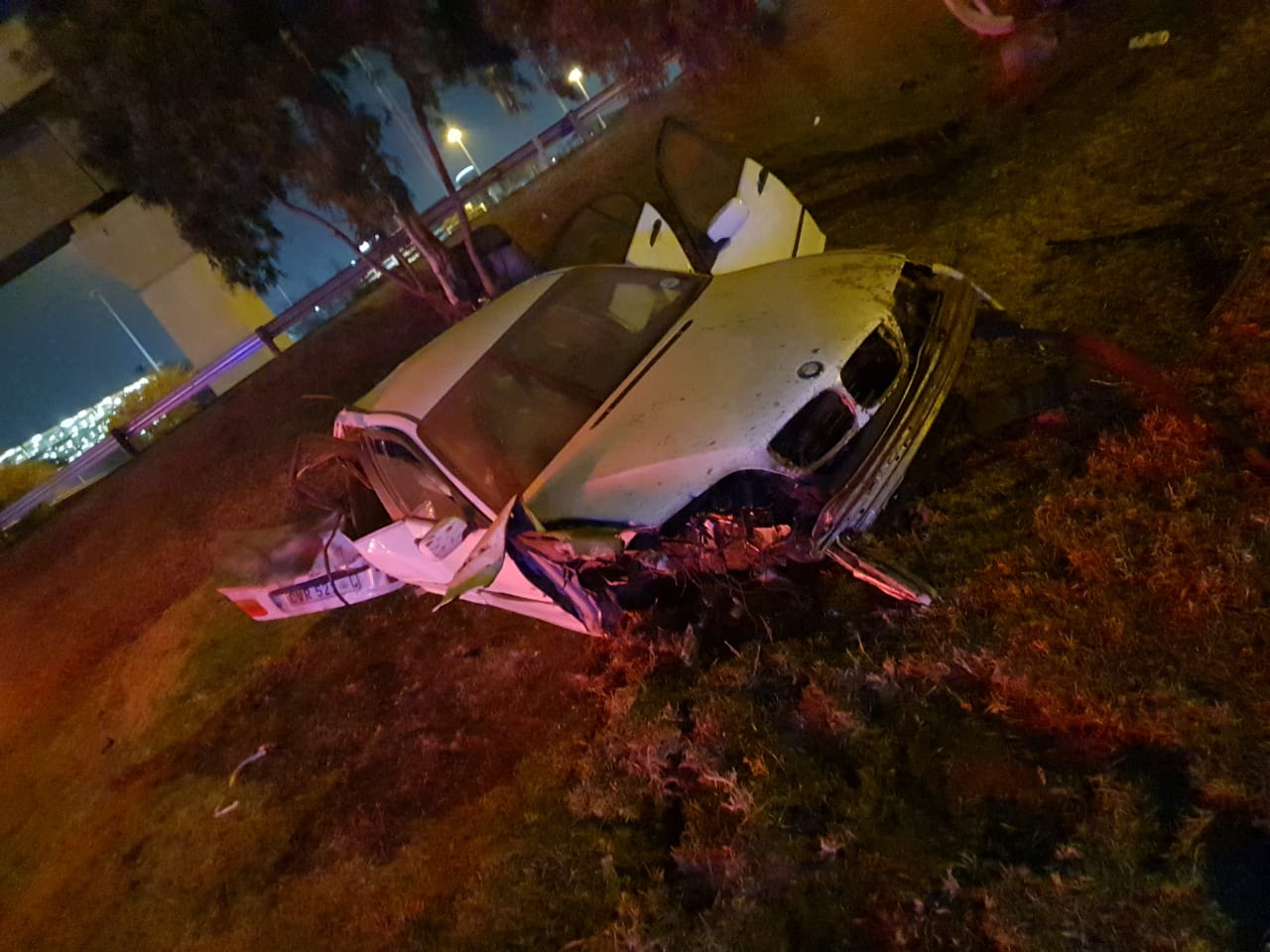 Injuries sustained in road crash in Kempton Park